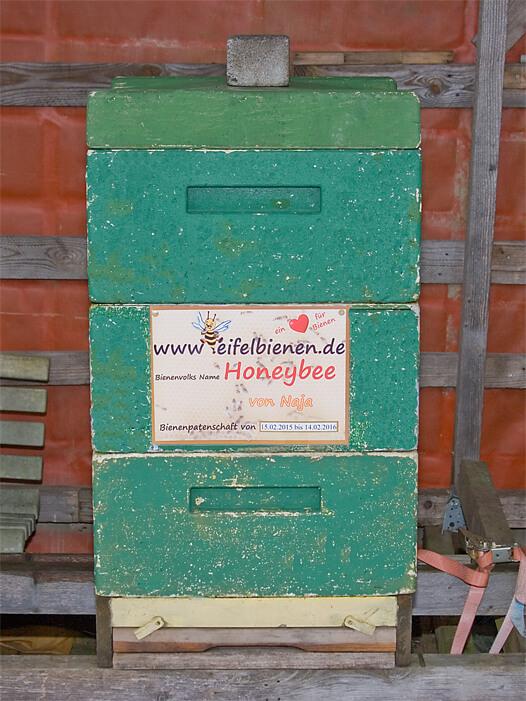 Premium-Bienenpatenschaft