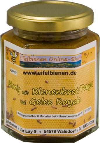 Eifelbienen-Honig, Bienenbrot und Gelee Royale 200 g