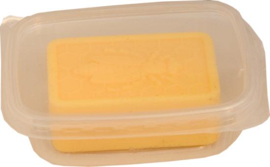 Honig-Lanolin-Seife mit Bienendekor Bild 2
